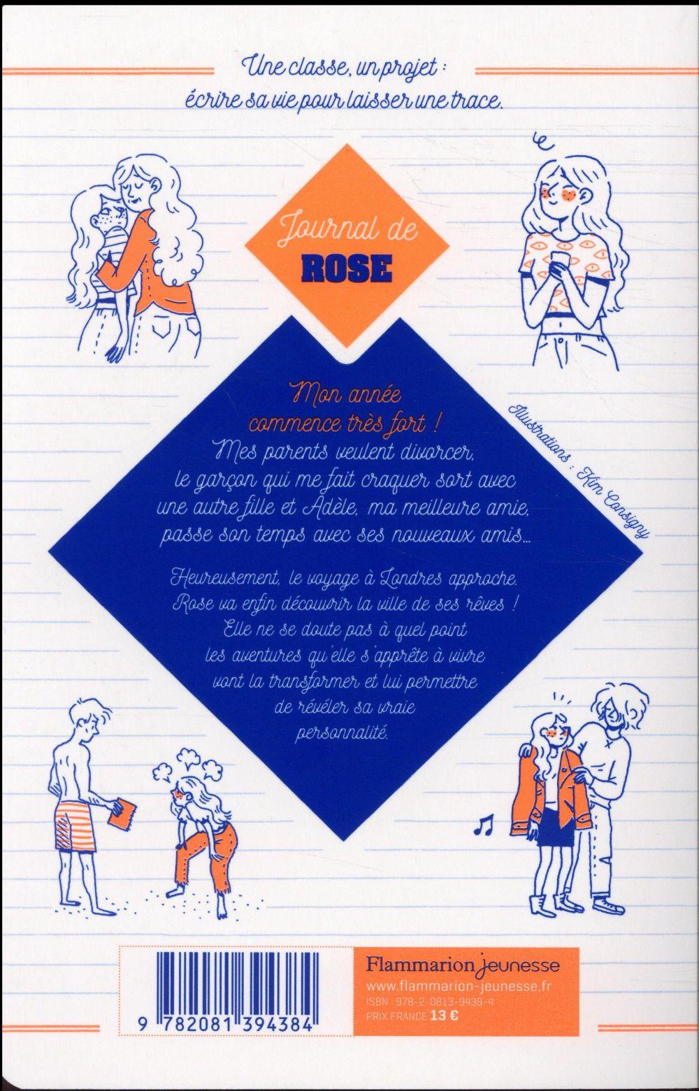 projet 3é B t.1 ; le journal de Rose
