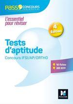 Vente Livre Numérique : Pass'Concours - Tests d'aptitude Concours IFSI/AP/Ortho - Entrainement et révision  - Valérie Beal - Anne Ducastel