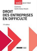Vente Livre Numérique : Droit des entreprises en difficulté - 10e édition  - Corinne Saint-Alary-Houin