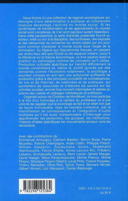 Le raisonnement sociologique à l'ouvrage ; théorie et pratiques autour de Christian Montlibert