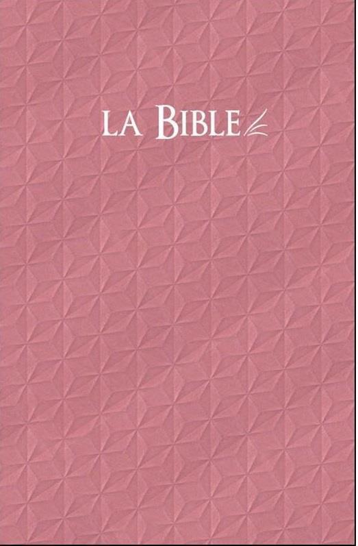 BIBLE SEGOND 21 RIGIDE ROSE, COMPACTE