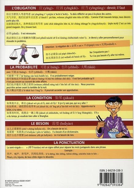 le chinois t.1 ; l'essentiel