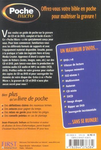poche micro gravure cd et dvd