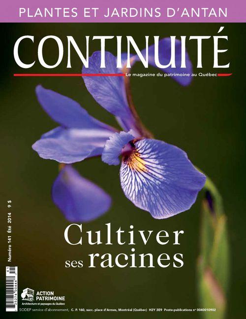 Continuité. No. 141, Été 2014