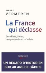 La France qui déclasse ; les Gilets jaunes, une jacquerie au XXIe siècle