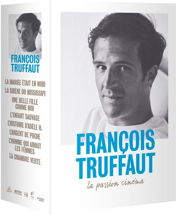 François Truffaut, la passion cinéma - Coffret 8 films