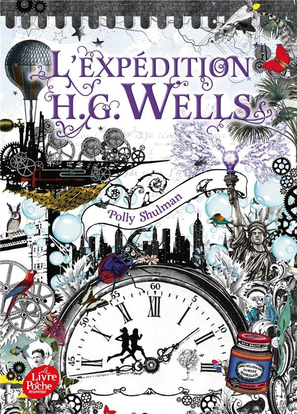 La malédiction Grimm T.2 ; l'expédition H.G. Wells