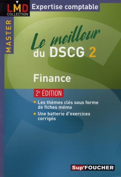 Le meilleur du DSCG 2 ; finance (2e édition)