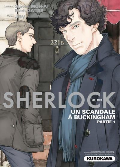 Sherlock T.4 ; un scandale à Buckingham ; partie 1