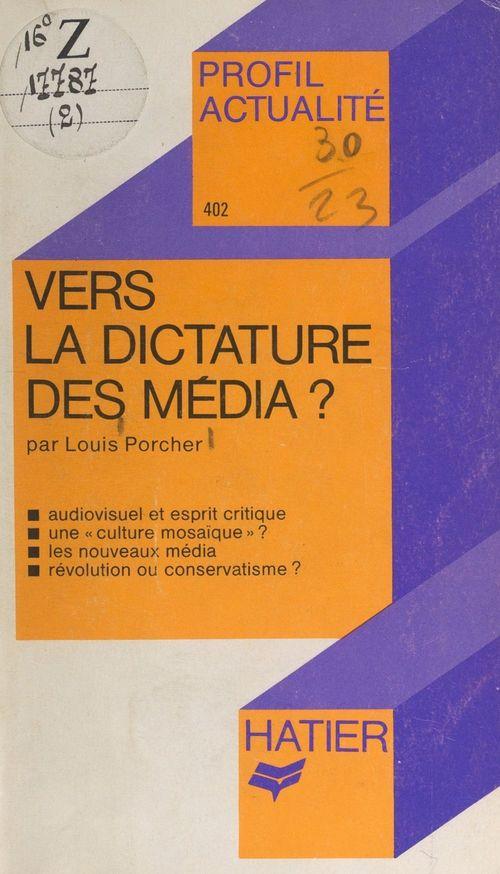 Vers la dictature des médias ?