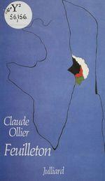 Vente Livre Numérique : Feuilletons  - Claude OLLIER