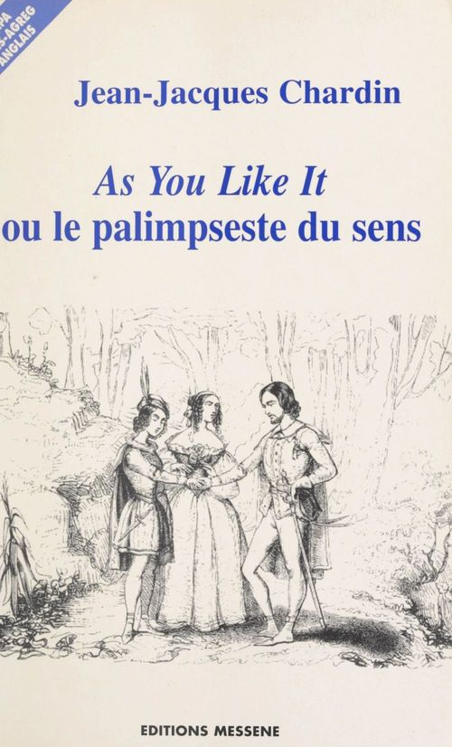 «As you like it», de William Shakespeare