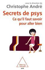 Vente EBooks : Secrets de psys  - Christophe Andre