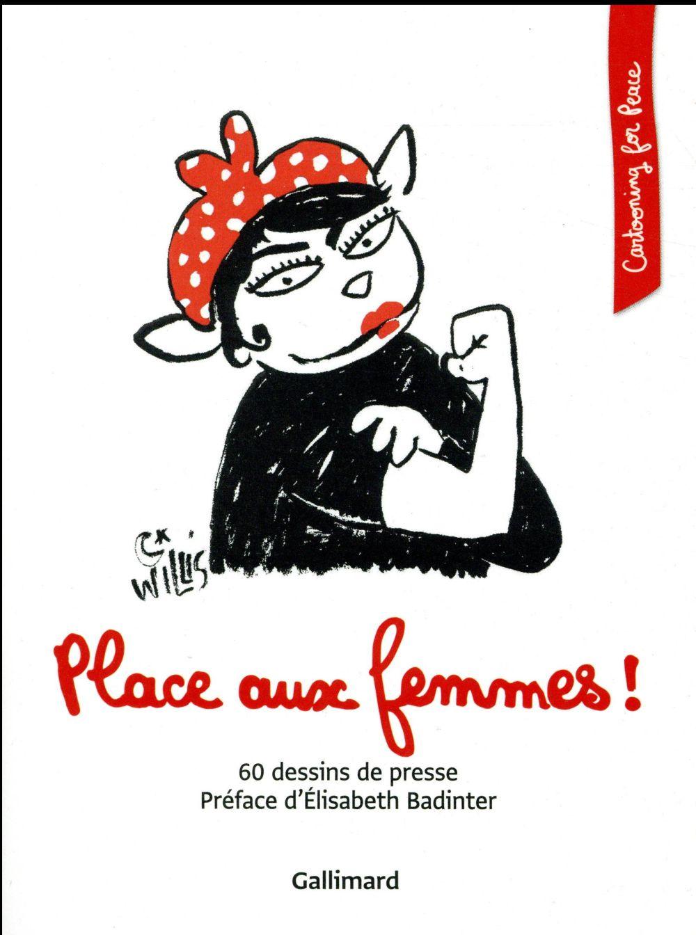 Place aux femmes ! 60 dessins de presse