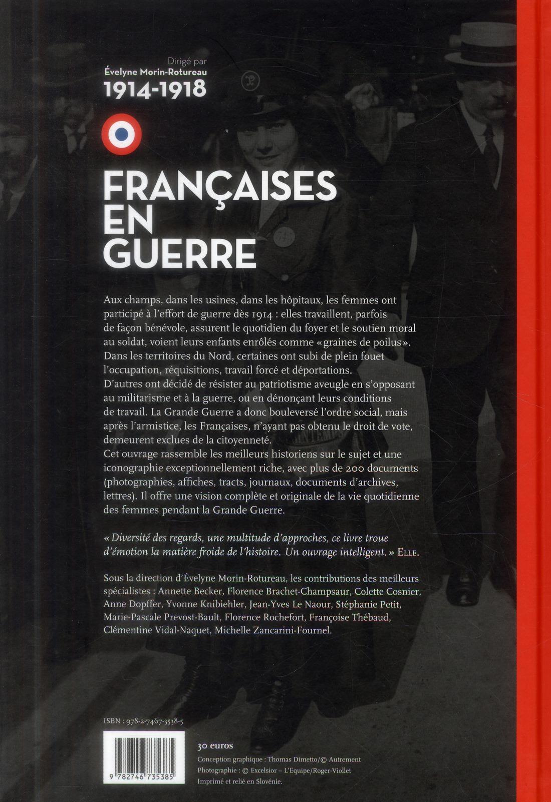 Françaises en guerre ; 1914-1918