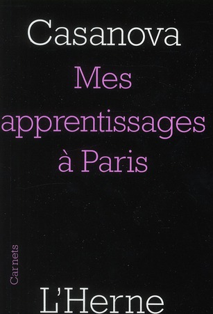 Mes apprentissages à paris