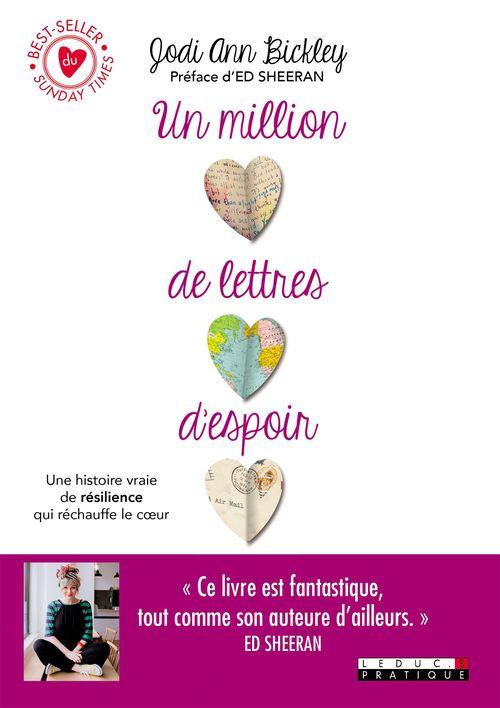 Un million de lettres d'espoir ; une histoire vraie de résilience qui réchauffe le coeur