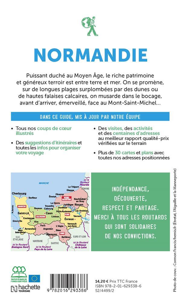 Guide du Routard ; Normandie (édition 2021/2022)