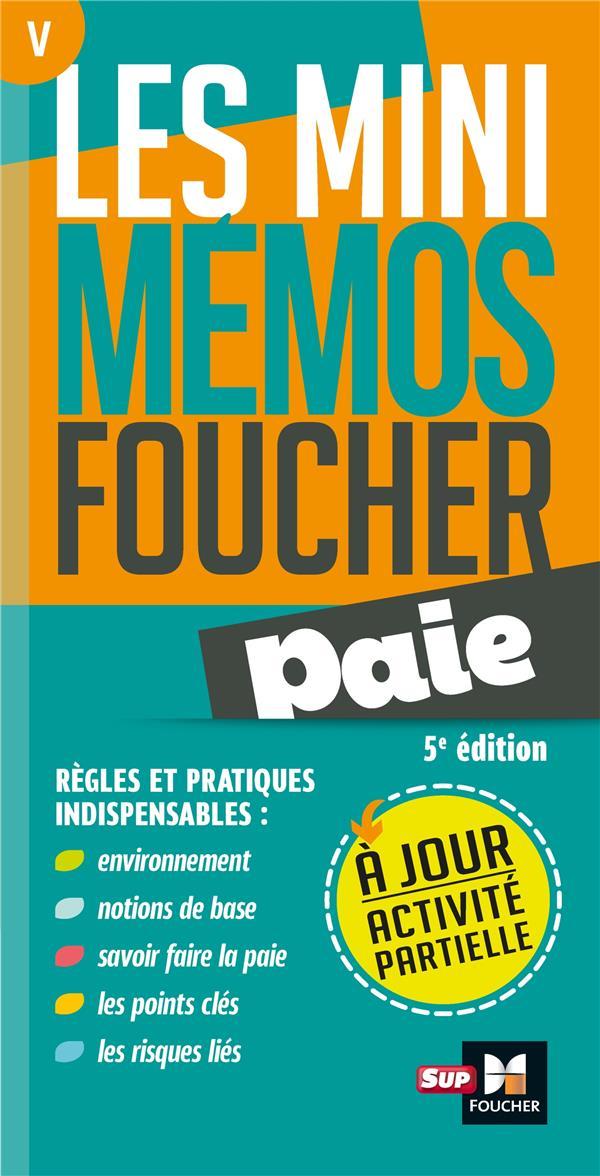 Les mini mémos Foucher t.5 ; paie (5e édition)