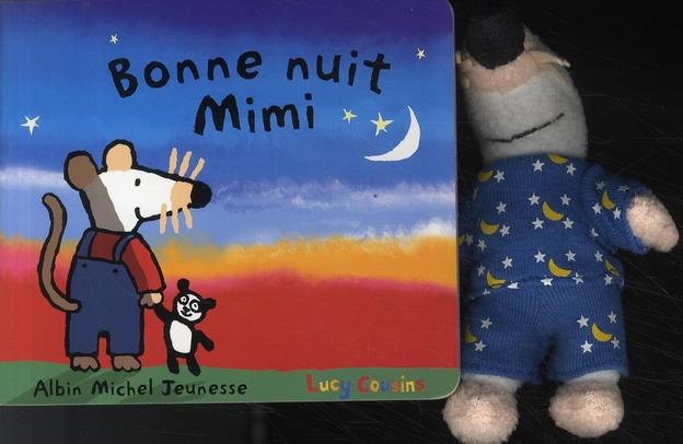 Bonne Nuit Mimi -Avec Peluche-