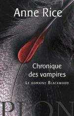 Couverture de Chroniques des vampires t.9 ; le domaine blackwood