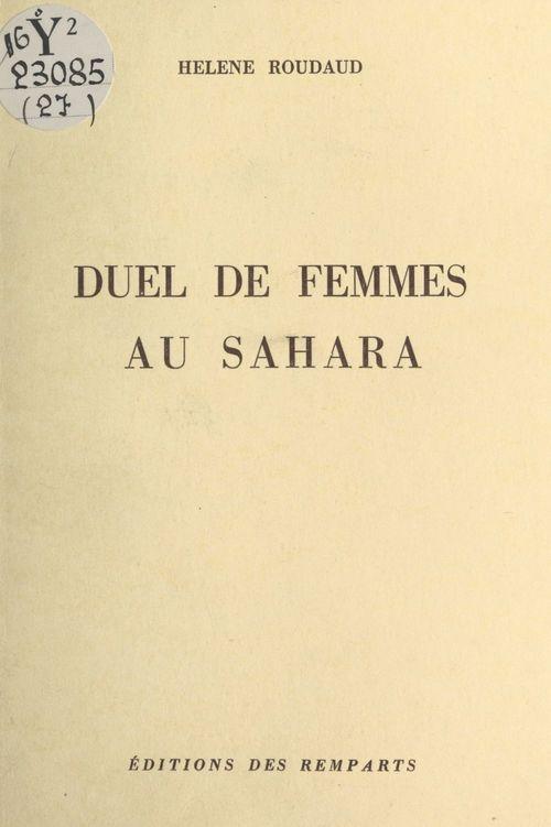 Duel de femmes au Sahara