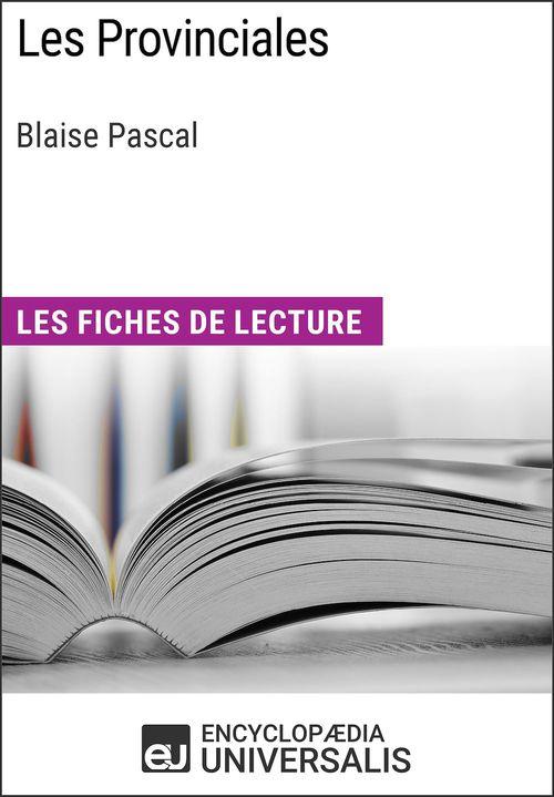 Les Provinciales de Blaise Pascal