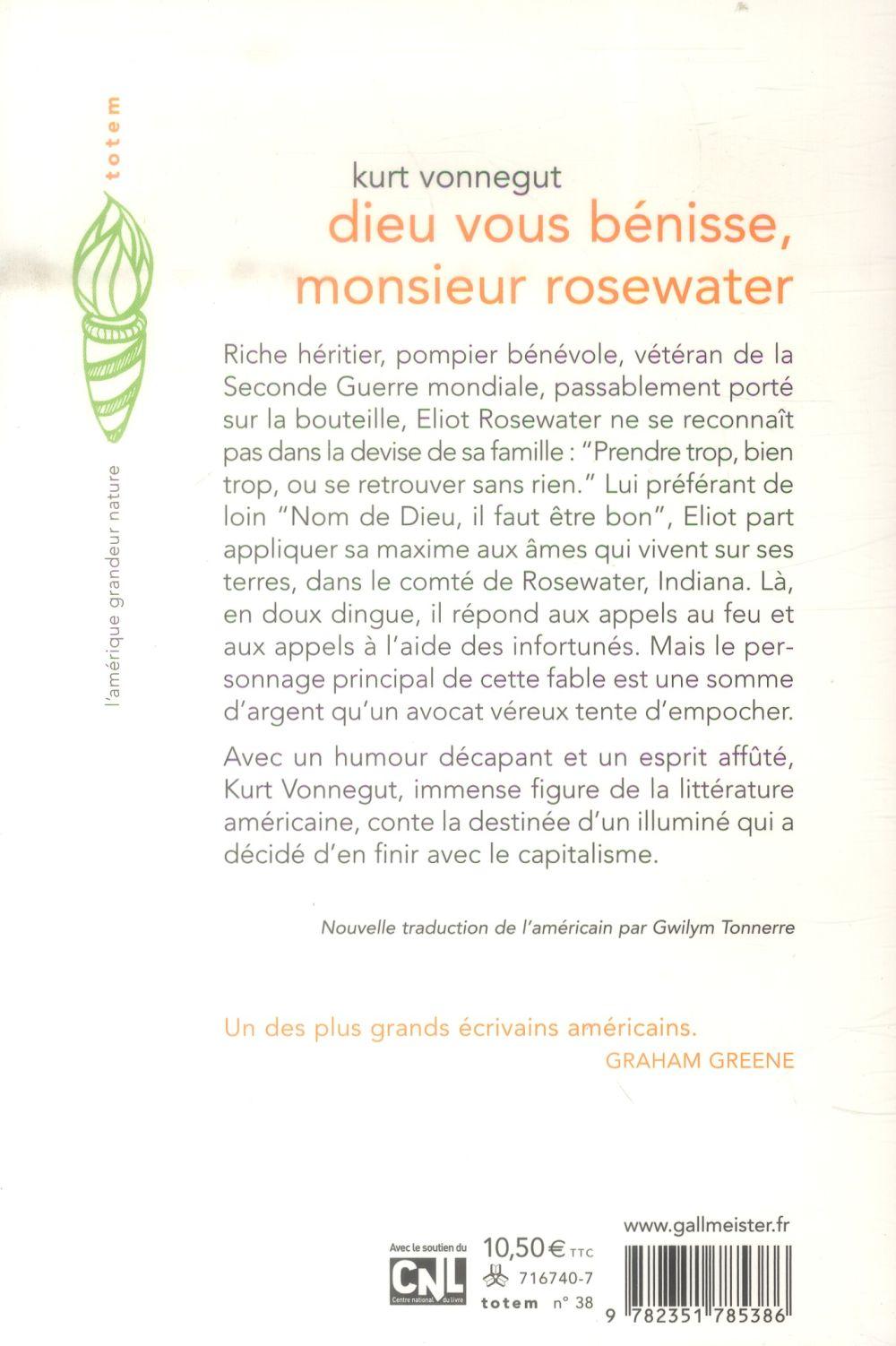 Dieu vous bénisse monsieur rosewater