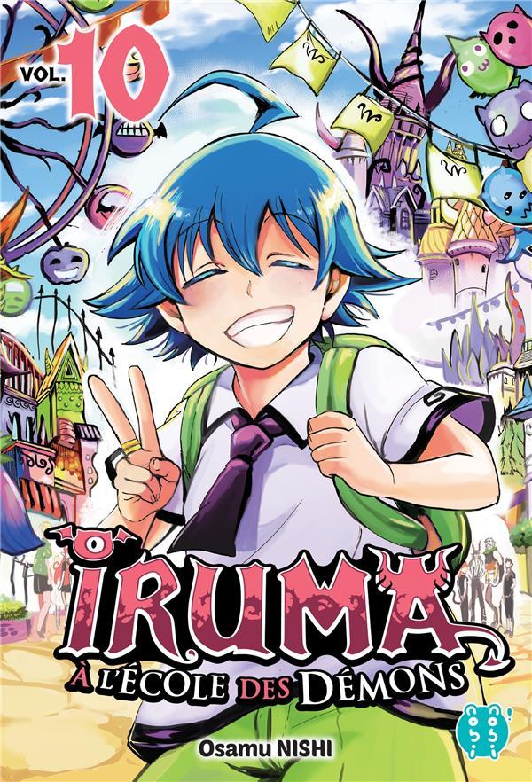 Iruma a l'ecole des demons t10