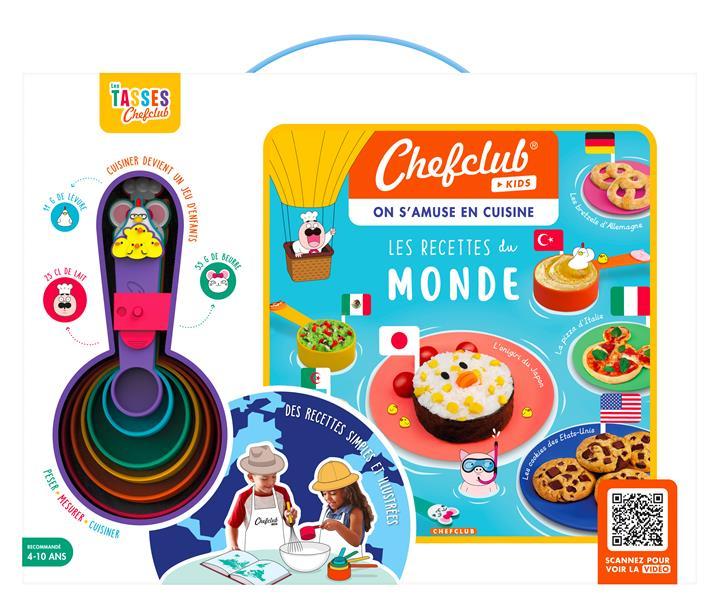 Chefclub kids ; les recettes du monde ; coffret