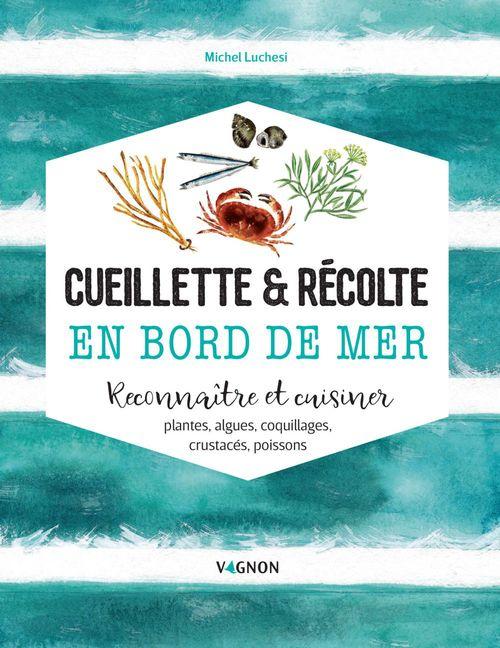 Cueillette & récolte en bord de mer ; reconnaitre et cuisiner : algues, plantes, coquillages, crustacés, poissons