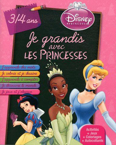 Je grandis avec les princesss
