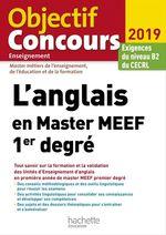 Vente EBooks : L'anglais en Master MEEF 1er degré  - Claire Benimeli