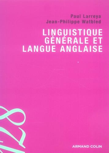 Linguistique Generale Et Langue Anglaise
