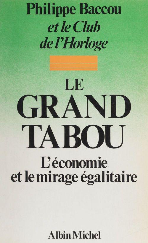 Le grand tabou