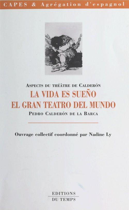 Aspects du theatre de calderon