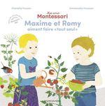 Vente Livre Numérique : Ma journée Montessori - Romy aime faire toute seule  - Charlotte Poussin