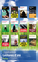 Vente Livre Numérique : Extraits gratuits - Lectures d'été Folio 2015  - David Foenkinos - Franz-Olivier. Giesbert - Alix Deniger - DOA - Caryl Ferey - Ernest Hemingway - Marc Dugain - Carole Martinez
