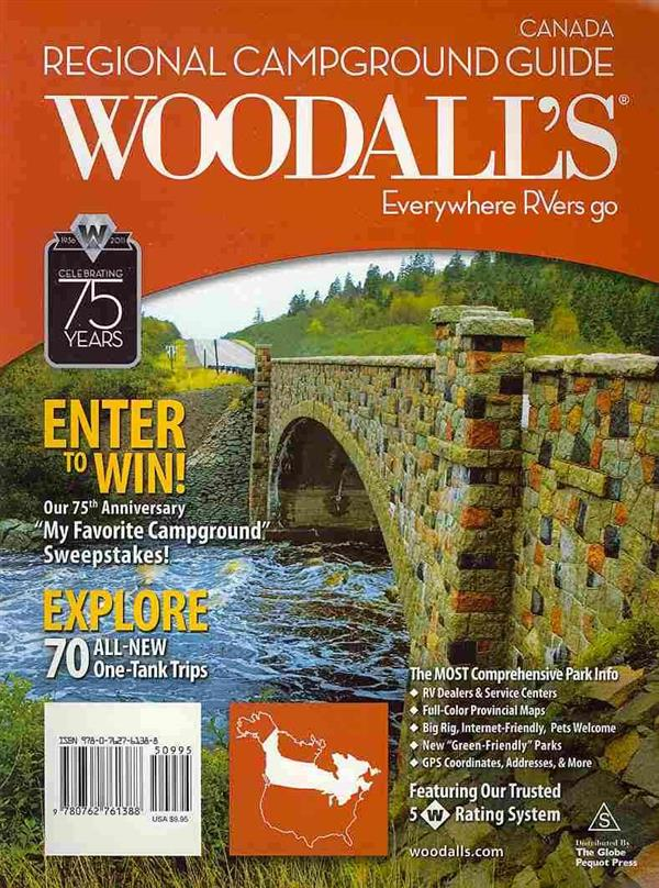 Canada 2011 ; Woodall's Campground Guide