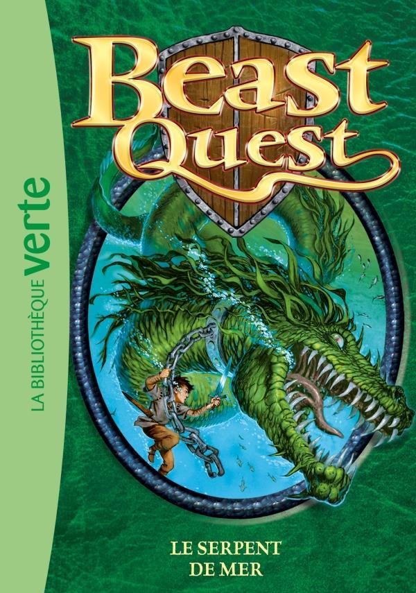 Beast Quest T.2 ; le serpent de mer