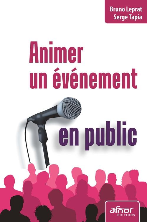 Animer un événement en public