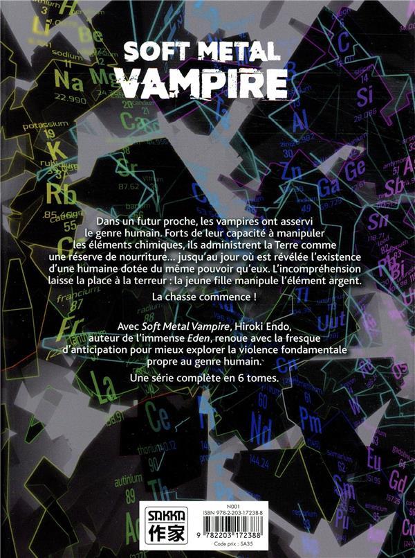 Soft metal vampire T.1