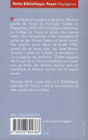 Odette du Puigaudeau ; une bretonne au désert