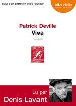 Vente AudioBook : Viva  - Patrick Deville - Patrck Deville