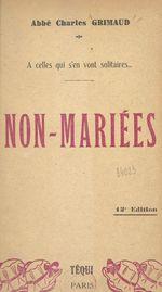 Non-mariées