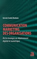 Communication marketing des organisations  - Gervais Cwako Monkam
