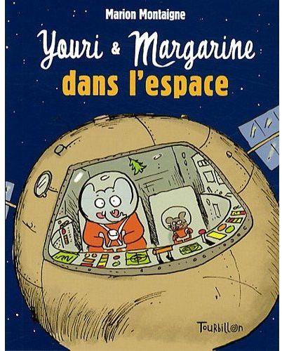 Youri et Margarine ; dans l'espace