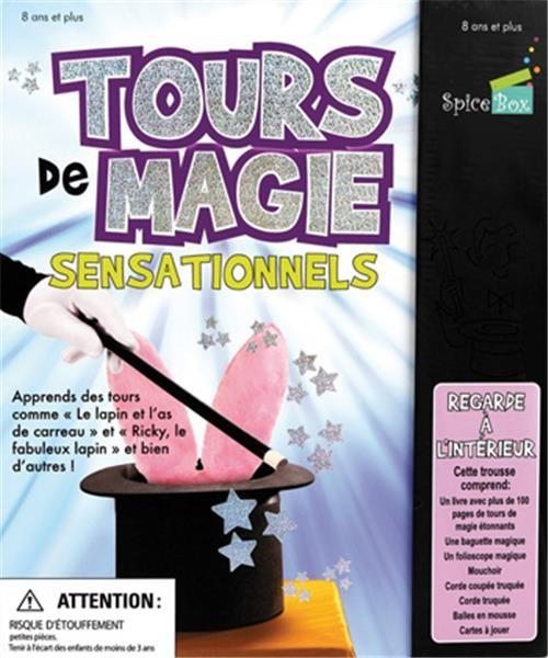Tours de magie ; coffret