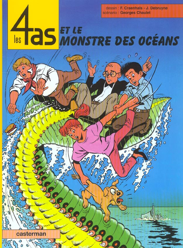 Les 4 as t.38 ; les 4 as et le monstre des océans