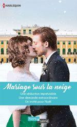 Vente Livre Numérique : Mariage sous la neige  - Lucy Gordon - Jessica Hart